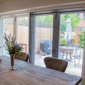 Phantom fly screens for bifolds