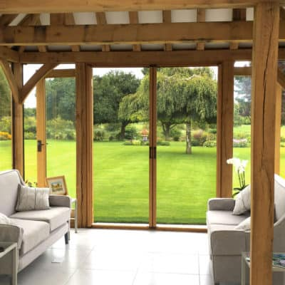 Double Retractable Fly Screens