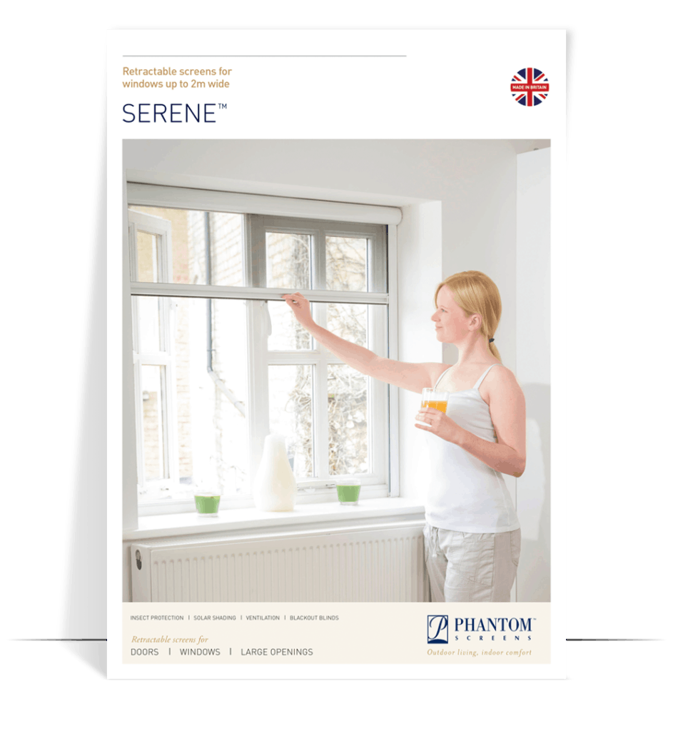 serene product brochure